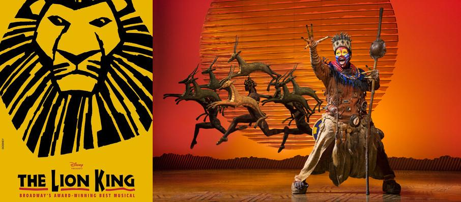 The Lion King at Bass Performance Hall