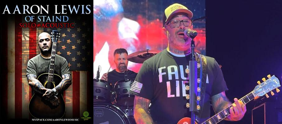 Aaron Lewis at Billy Bobs