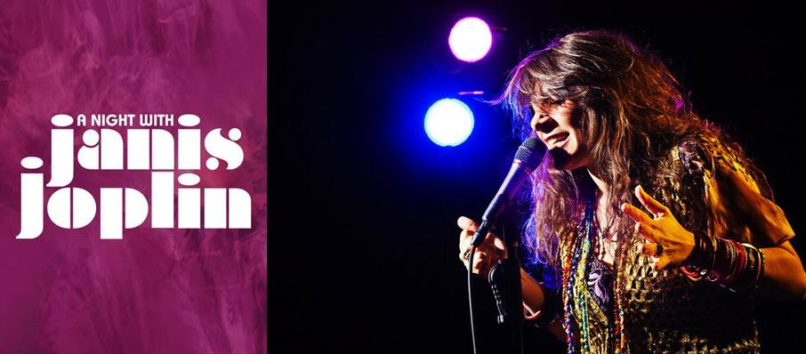 A Night with Janis Joplin at Bass Performance Hall