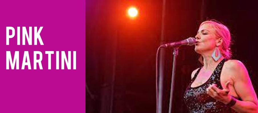 Pink Martini at Bass Performance Hall