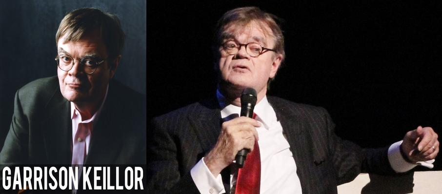 Garrison Keillor at Bass Performance Hall