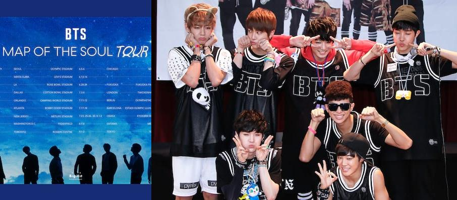 BTS - Bangtan Boys at Fort Worth Convention Center Arena