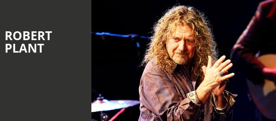 Robert Plant, Lubbock Auditorium, Fort Worth