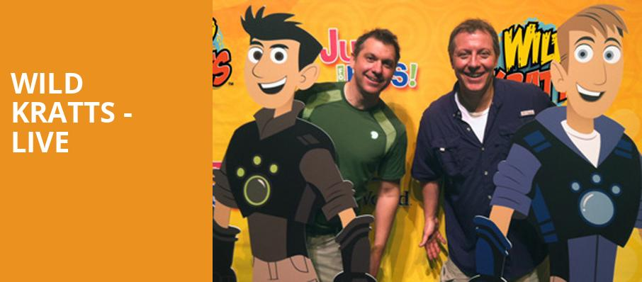 Wild Kratts Live, Bass Performance Hall, Fort Worth