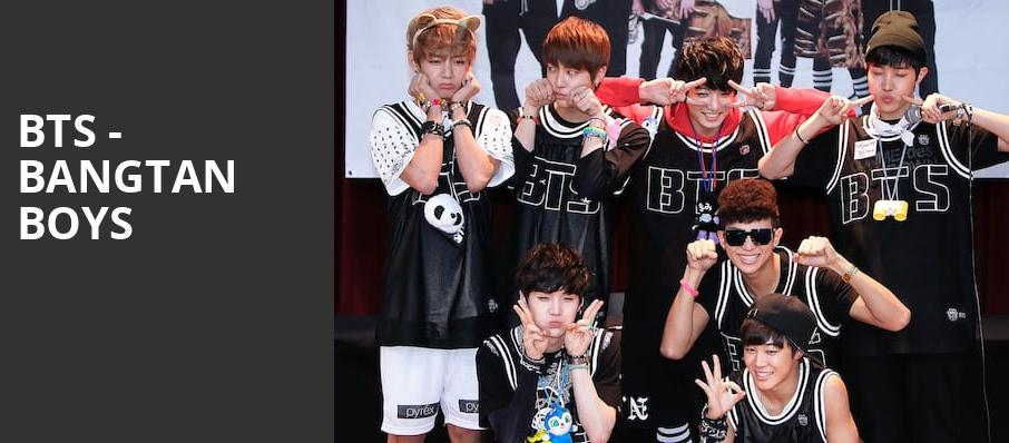 BTS Bangtan Boys, Fort Worth Convention Center Arena, Fort Worth