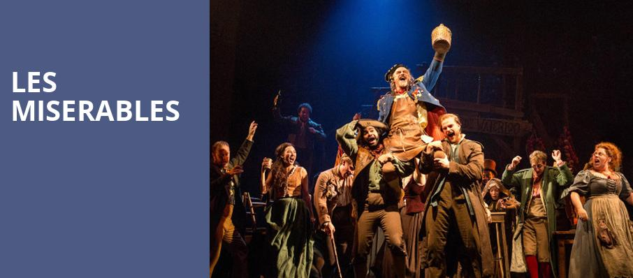 Les Miserables, Bass Performance Hall, Fort Worth