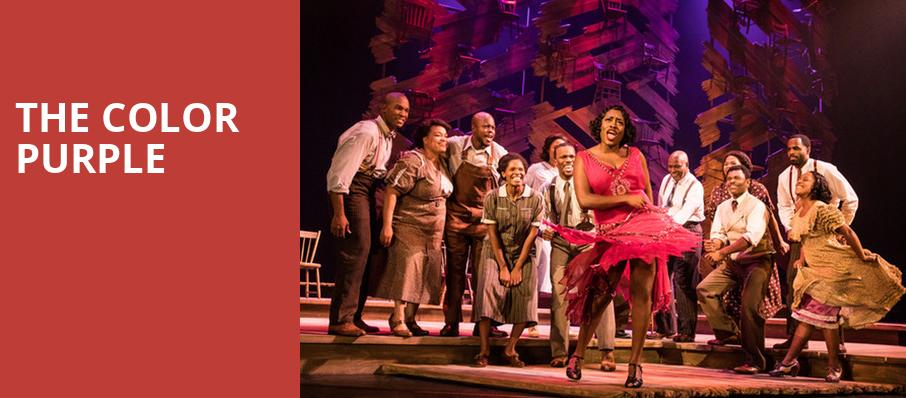 The Color Purple, Bass Performance Hall, Fort Worth