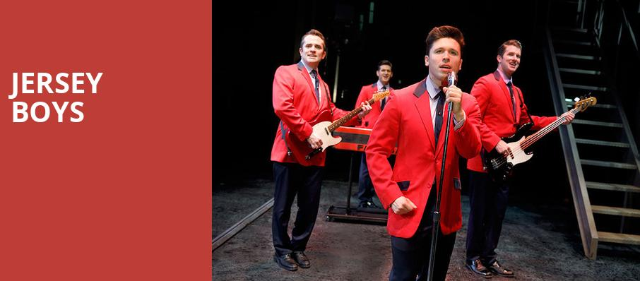 Jersey Boys, Bass Performance Hall, Fort Worth