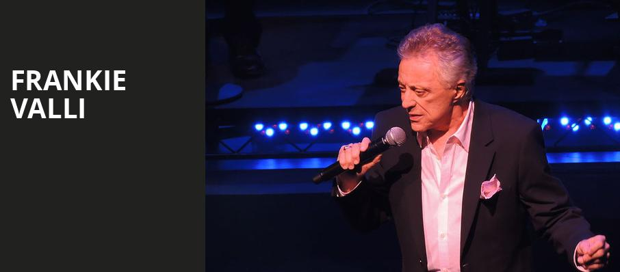 Frankie Valli, Bass Performance Hall, Fort Worth
